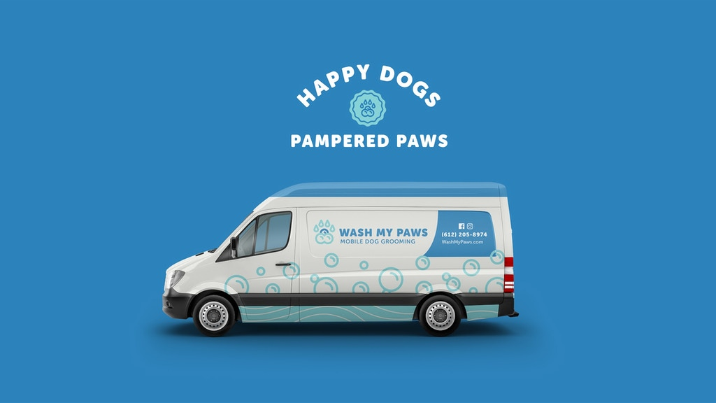 Wash My Paws: Mobile Dog Grooming project video thumbnail