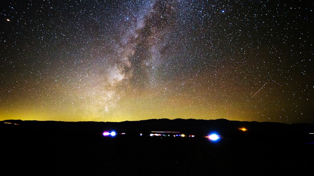 Meteor Shower Party at Death Valley Stargazing Camp project video thumbnail