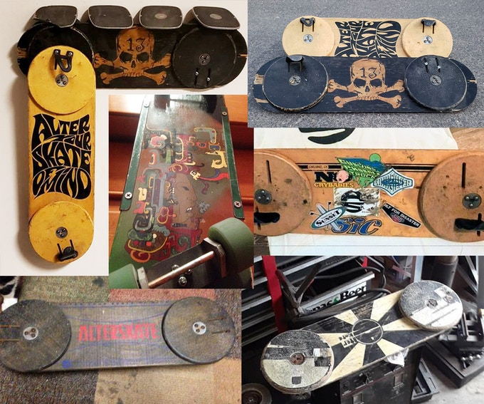 Customized Alterskate boards