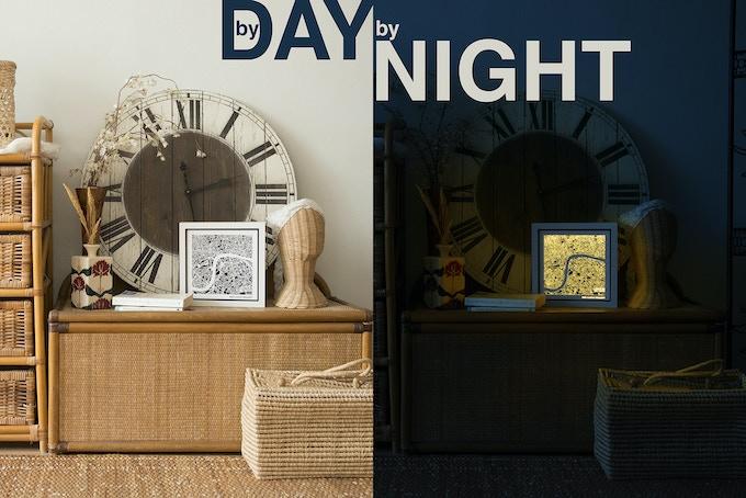 City Art by Day, City Light by Night