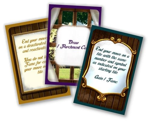 example of card texts