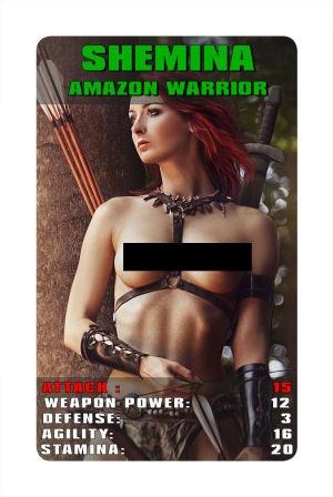 """Amazonen haben die höchsten Beweglichkeitswerte im Spiel! - Amazon Warriors have the highest """"AGILITY"""" values in the game!"""