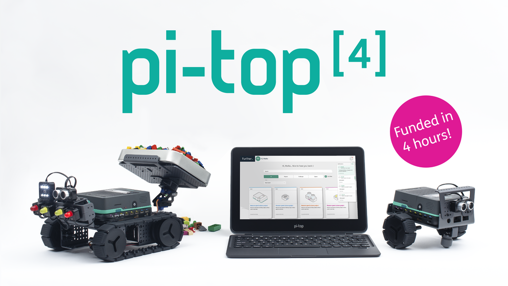 pi-top [4] the smarter way to design, code & make anything! project video thumbnail