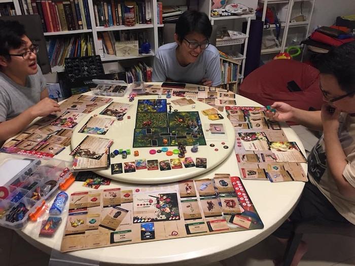Fiona Wong's table setup