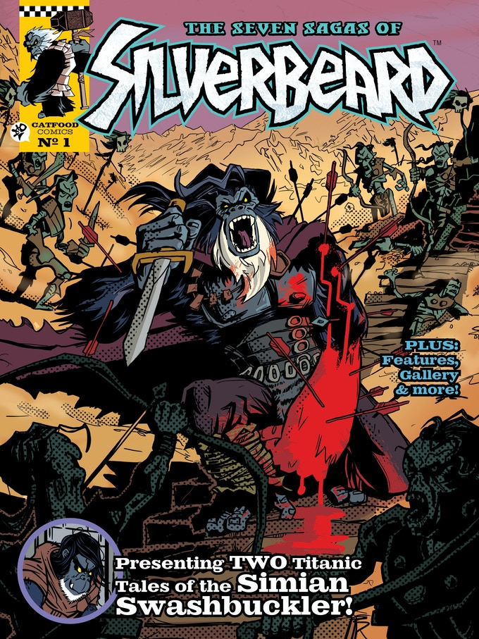 The Seven Sagas of Silverbeard - Break Kickstarter by This