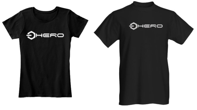 These t-shirts are in the perks (left is female, right is male. We have all sizes. If you forget to tell me the size and/or model i will ask you ;) )