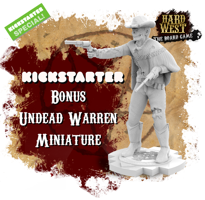*UNDEAD WARREN WILL BE INCLUDED IN EVERY PLEDGE LEVEL AND IT IS NOT TIME LIMITED OFFER.