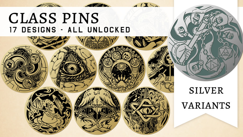 Project image for Class Pins: An enamel pin set