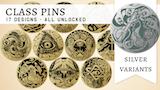Class Pins: An enamel pin set thumbnail