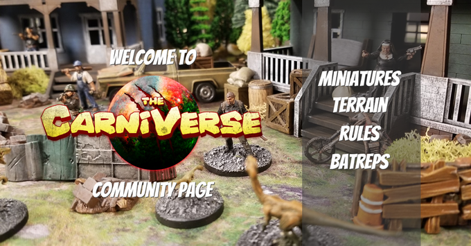 Join the Carniverse Community Page on Facebook and get the most out of your game!