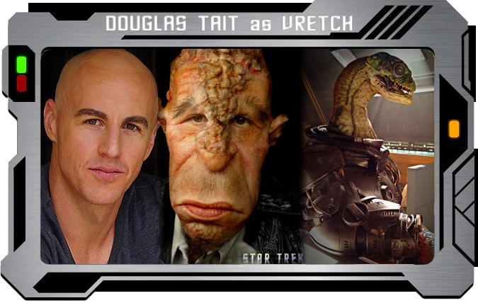 Douglas Tait - Star Trek, Grimm, Legacies, Hellboy, Teenwolf, Annabelle Comes Home