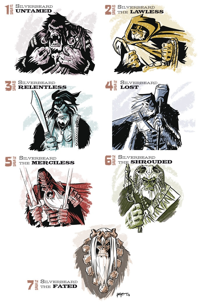 The Seven Sagas of Silverbeard