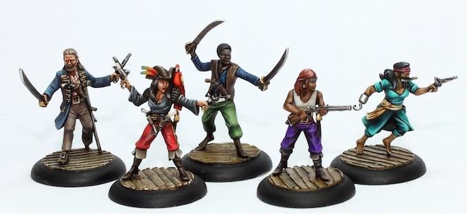 The Human Pirate Crew