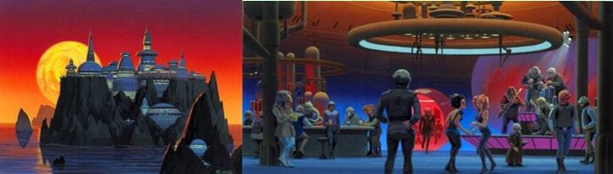 Cozmo's concept art, created by the legendary Star Wars/Cocoon/E.T. artist, Ralph McQuarrie.