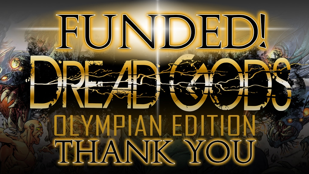Dread Gods Sci-Fi/Fantasy Graphic Novel, Art Book project video thumbnail