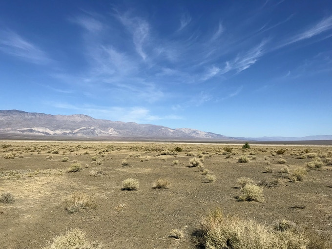 Panamint Valley is vast and largely untouched