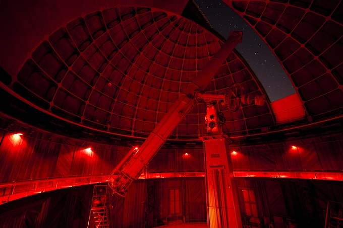 The 130 year old Great Lick Refractor