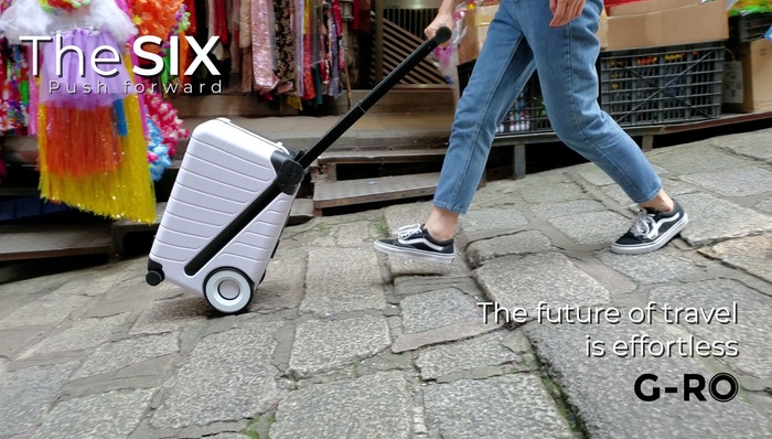 The Spinner Re-imagined: A durable pushed bag with all-terrain wheels, increased volume, and advanced ergonomics for an effortless ride
