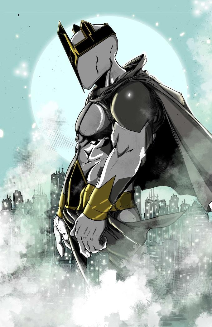 Homage variant to Oliver Coipel Batman 32 variant GOrilla Bred edition