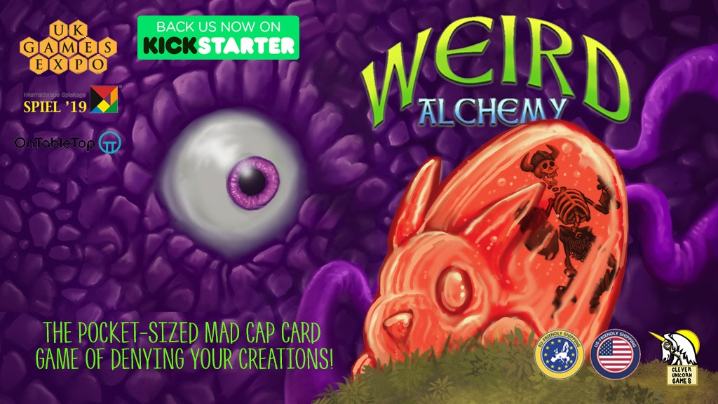Weird Alchemy project video thumbnail