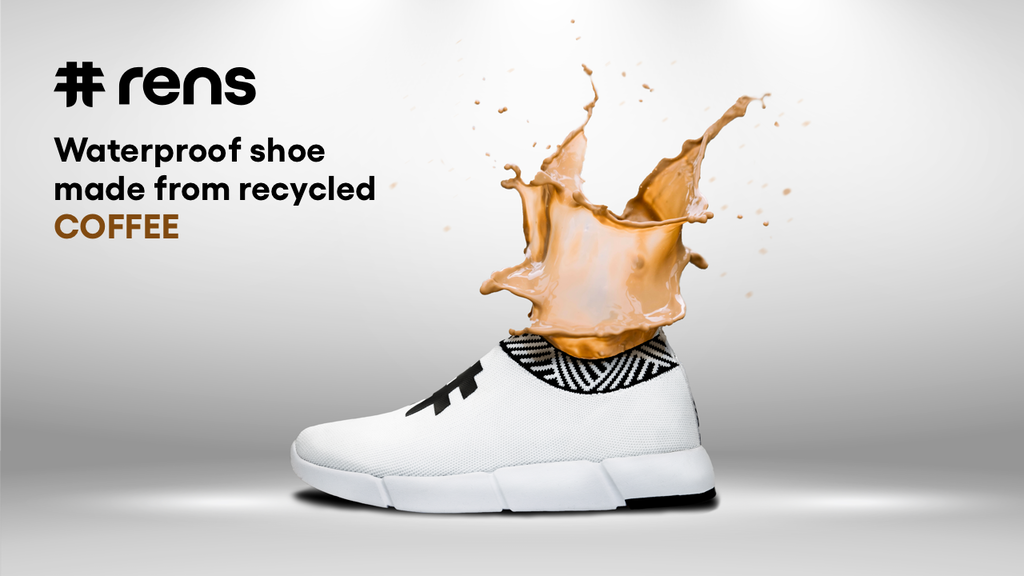 Rens | Waterproof Shoe Made From Recycled Coffee project video thumbnail