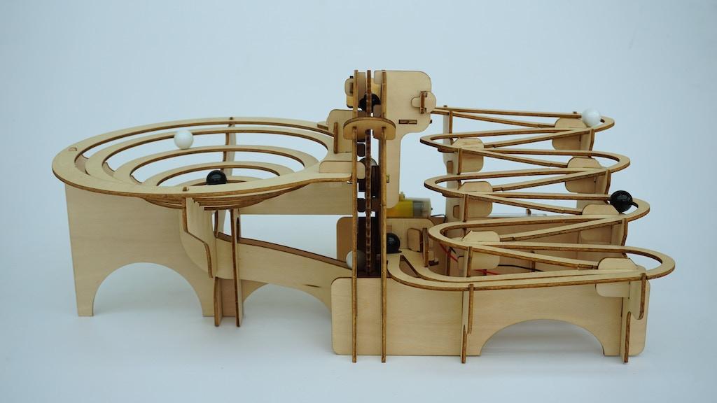 The Engenius Marble Run By Engenius World Kickstarter