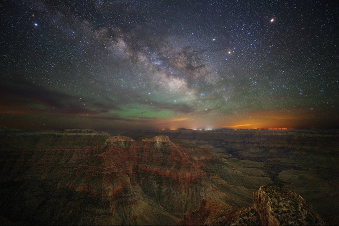 Point Sublime in the Grand Canyon