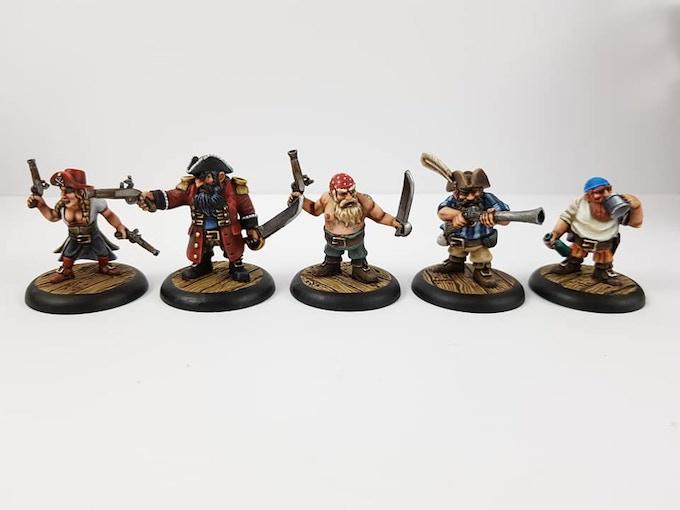 The Dwarf Crew