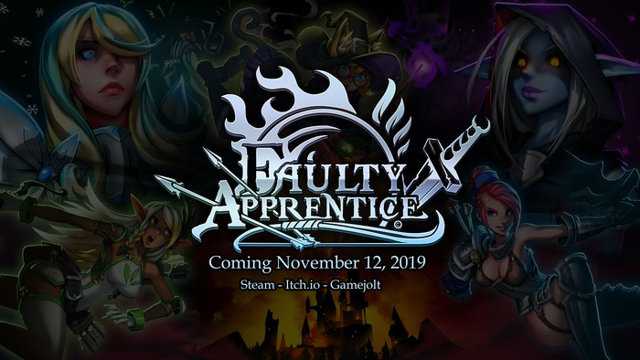 Faulty Apprentice will be released November 12, 2019!!