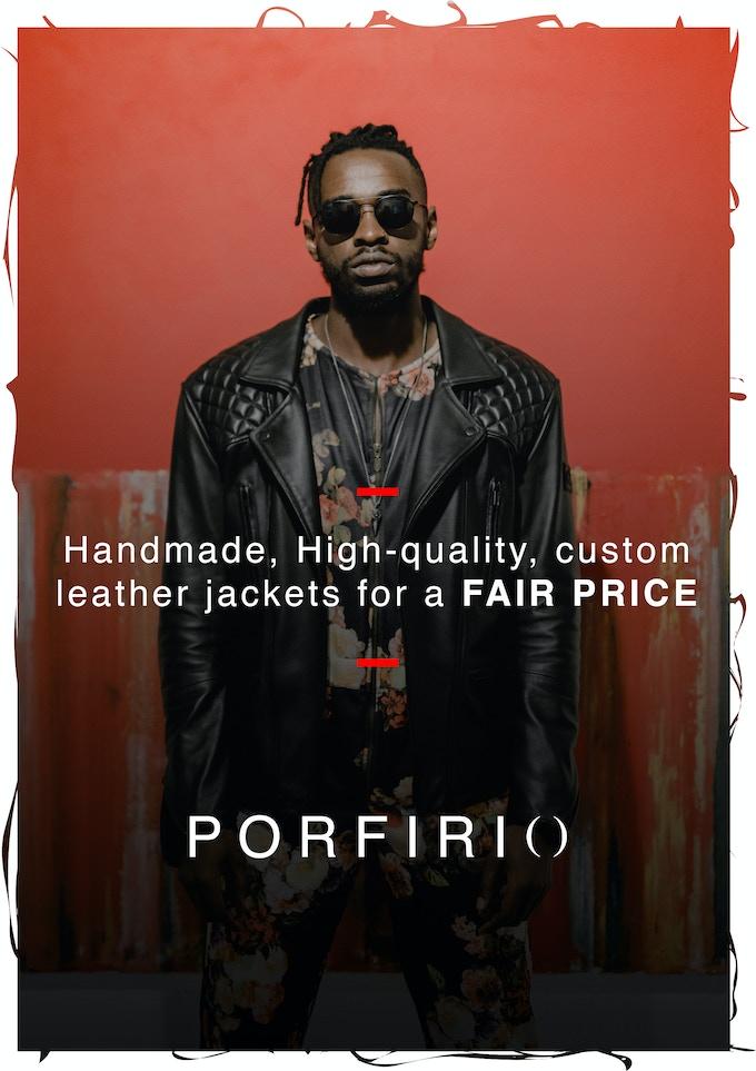"""""""PORFIRIO"""" Handmade, Custom Leather Jackets for a FAIR PRICE"""