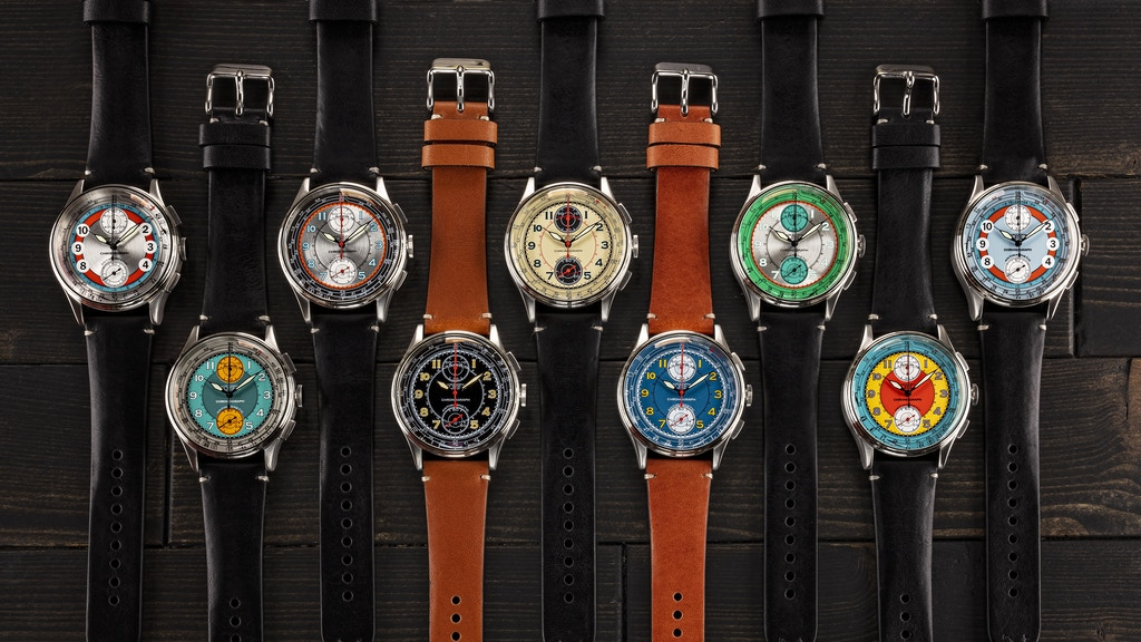 Project image for COMET CHRONOGRAPH WATCH