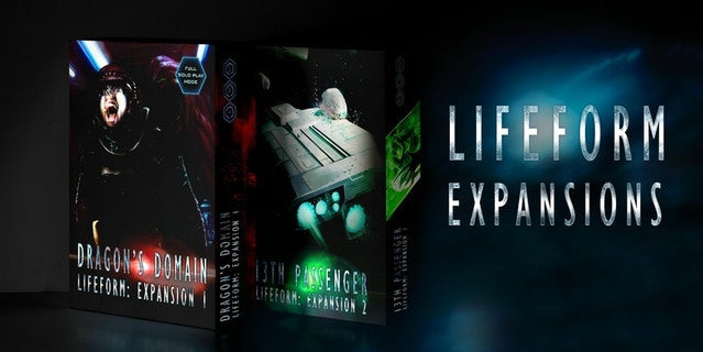 The Lifeform expansions: 13th Passenger and Dragon's Domain