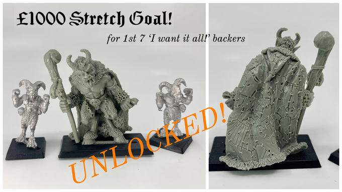 £1000 Stretch Goal - Unlocked!