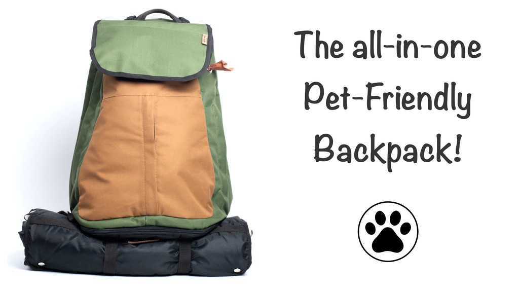 The Pet-Friendly Backpack project video thumbnail