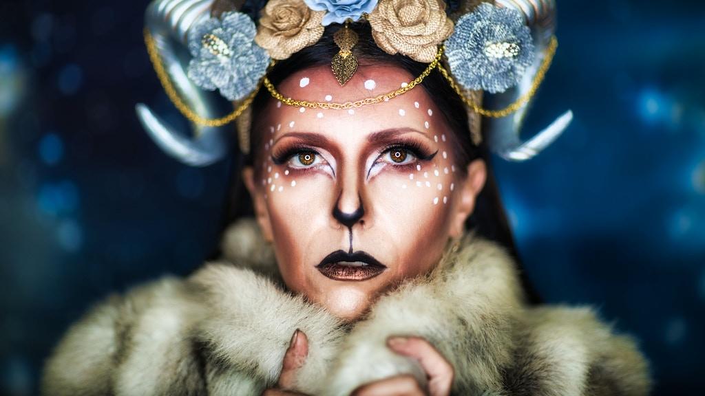 2020 Zodiac Calendar from Macabre Queen Studio by Ashley Dunlap