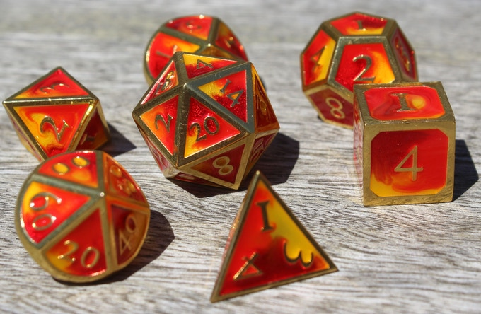 Fire Elemental Metal Set