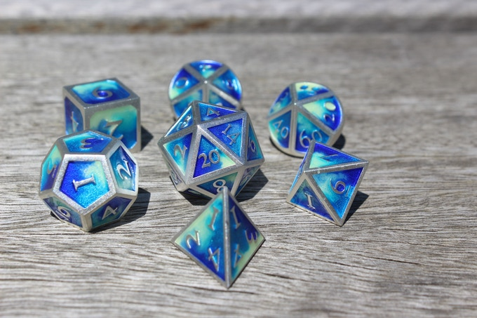 Water Elemental Metal Set