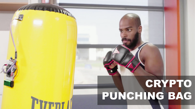 Lock your money into a punching bag and only get it back when you finish your workout