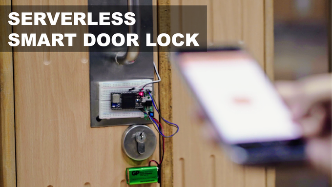 A decentralized smart door lock that you can control remotely with no intermediary cloud provider