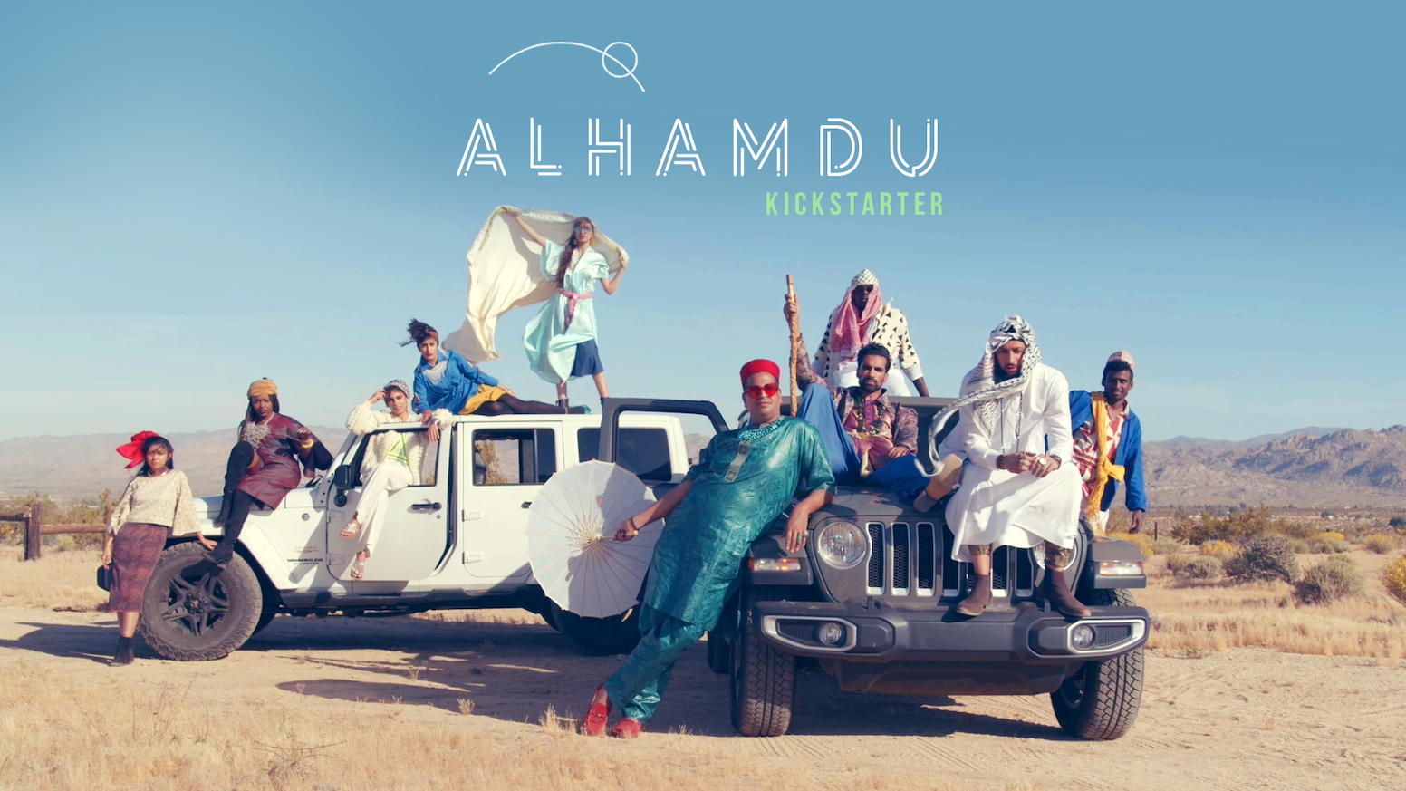 A musically-driven short film about Muslim Futurism. A colorful and joyous look into a future where Muslims exist unapologetically.