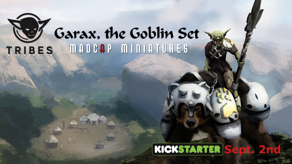 Tribes, Garax the Goblin Set. 3D Printable Miniatures project video thumbnail