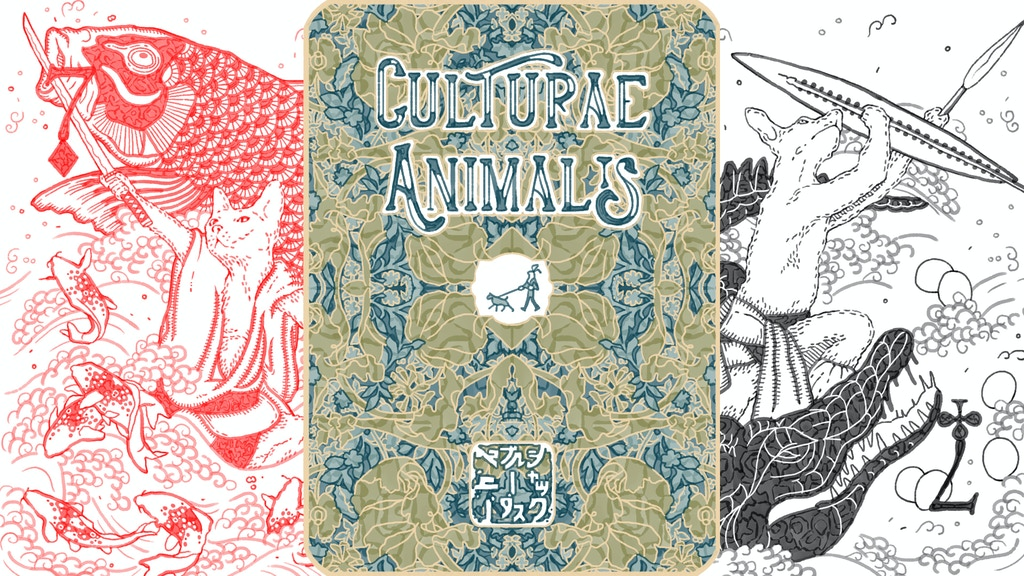 Culturae Animalis - art playing cards project video thumbnail