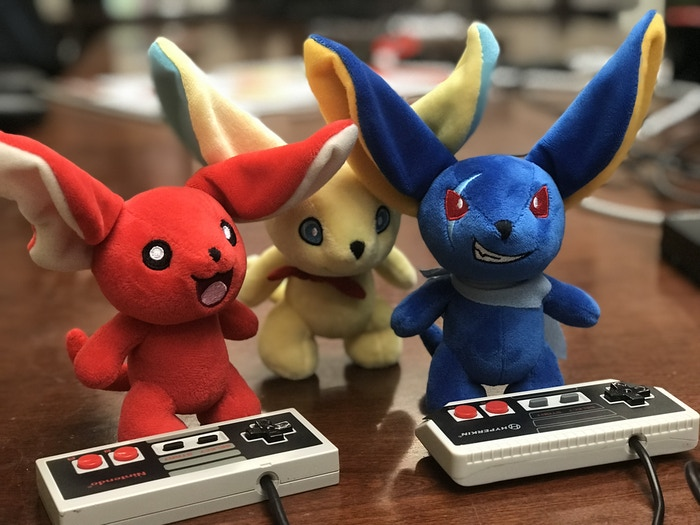 Only one of these Moglins knows the Konomi code.... wanna guess?