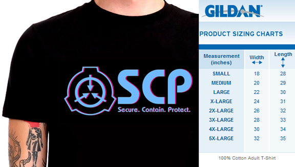 Kickstarter Exclusive Magenta and Aqua SCP Logo Unisex Shirts in all sizes