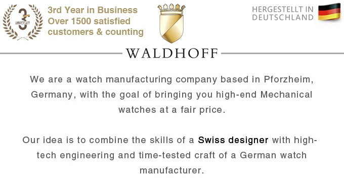 Waldhoff | Luxury Timepieces Made in Germany