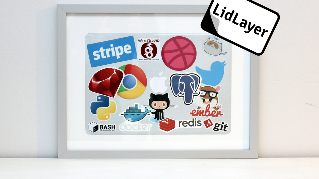 Project image for LidLayer - Protect and Preserve Your Laptop Stickers