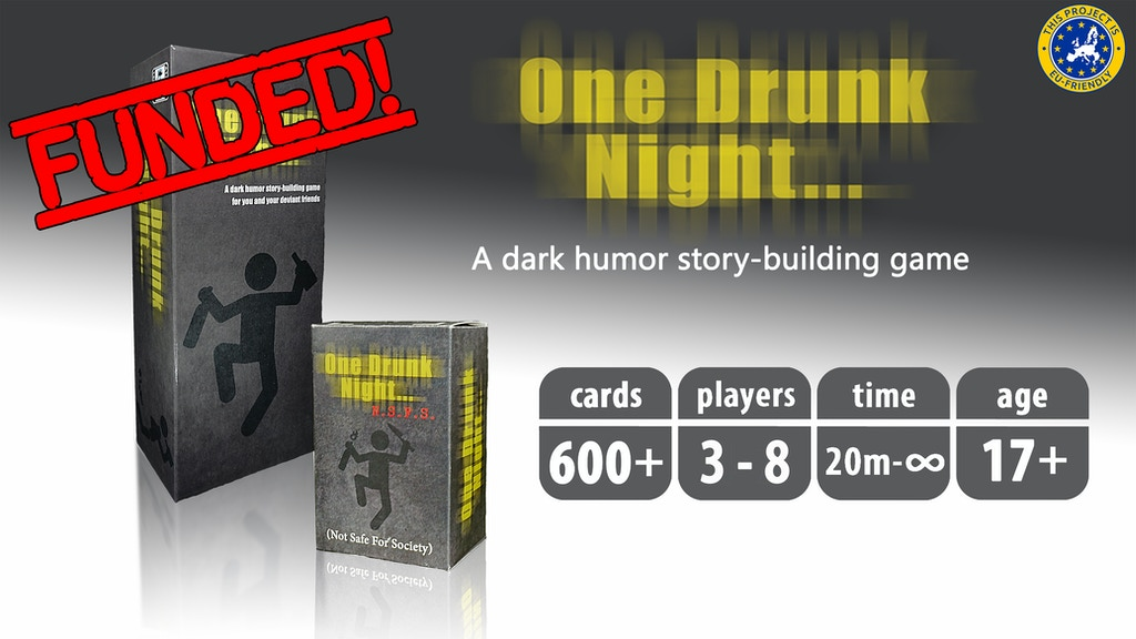 One Drunk Night: A dark humor story-building game project video thumbnail