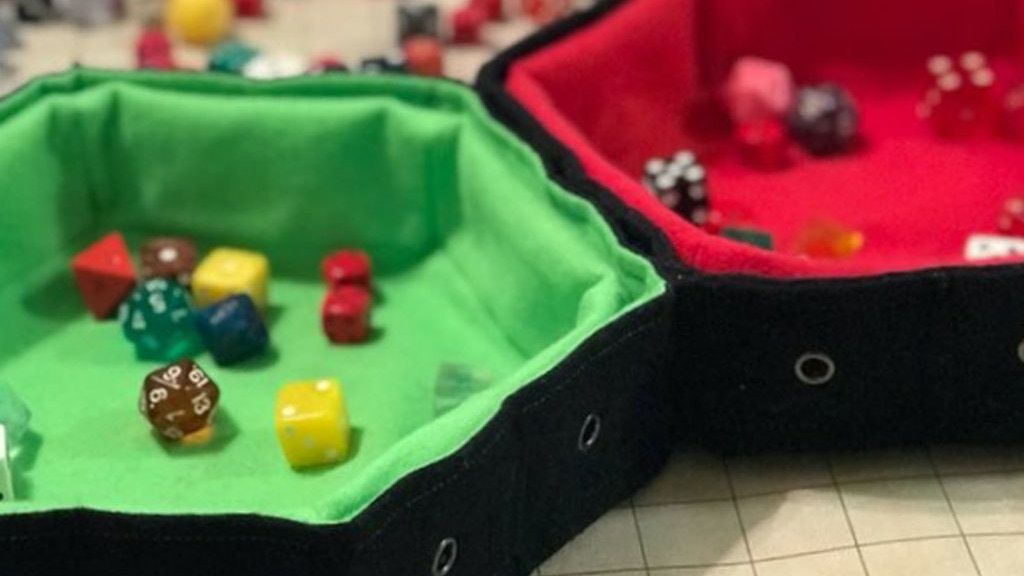 Project image for The Dice Bag Rolling Tray