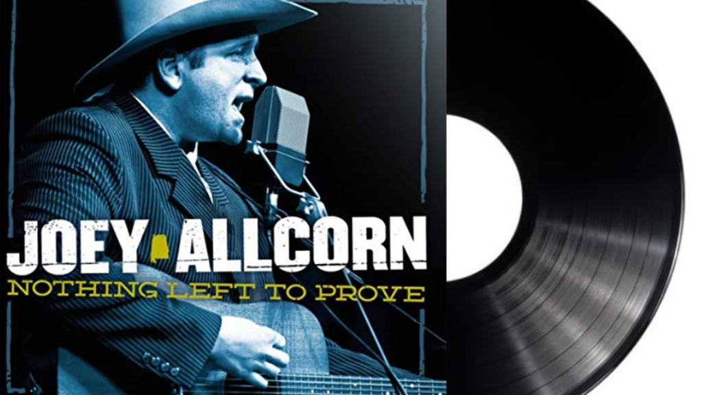 """Project image for Joey Allcorn """"Nothing Left To Prove"""" CD & Vinyl Release"""