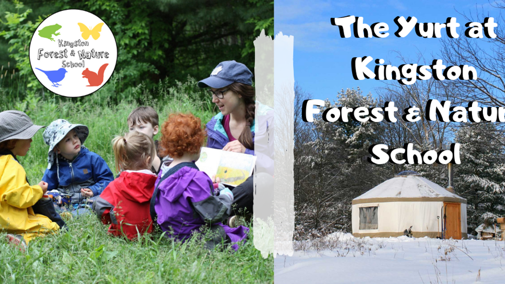 The Yurt at Kingston Forest & Nature School project video thumbnail